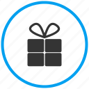 christmas gift, gift box, offer, present, surprise, valentine gift icon