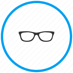 eye glass, goggles, specs, spectacles, sun glass, view icon