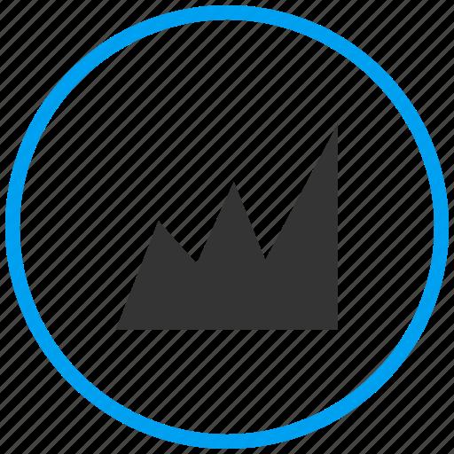 analysis, analytics, evaluation, finance, graph, report, statistics icon