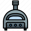 pizza, oven, food, restaurant, cook, kitchen