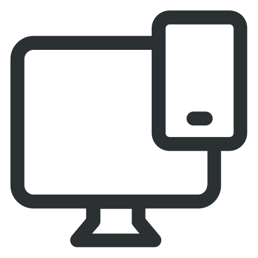 device, monitor, smartphone, technology icon icon