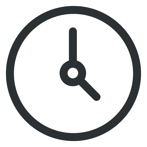 business, clock, office, time icon icon
