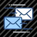 app, correspondance, correspondence, map, mapping, technology icon