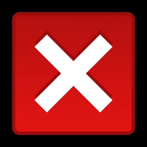 cancel, cross, exit, remove icon