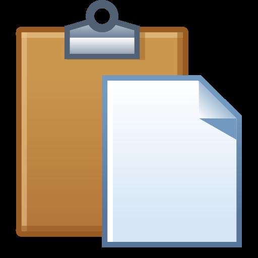 board, clipboard, paste, task icon
