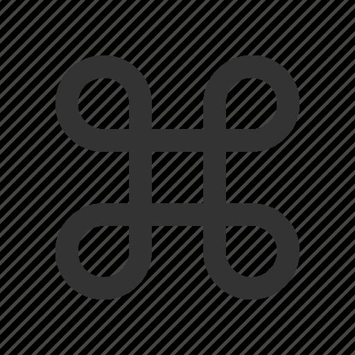 apple, command, computer icon