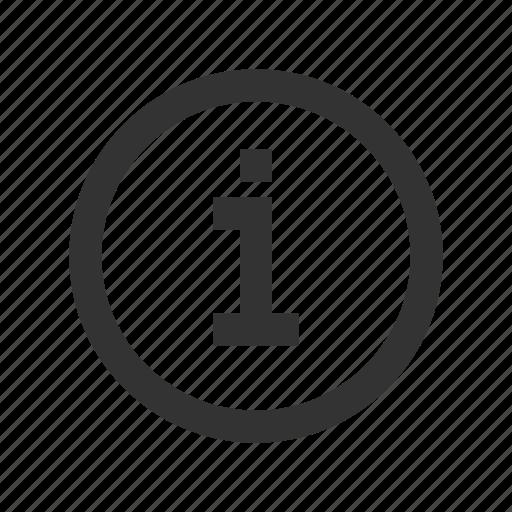 advice, help, info, information icon