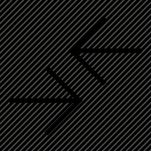 arrows, compare, direction, exchange, return icon