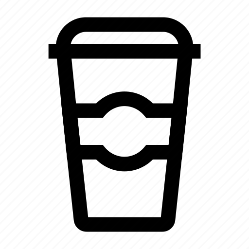 beverage, cafe, coffee, drink, glass icon