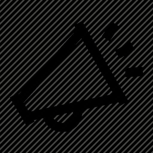 advertising, announcement, bullhorn, marketing, megaphone icon
