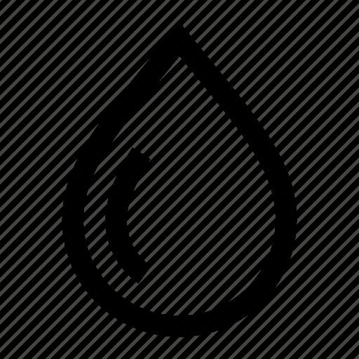 blood, drink, drop, rain, water icon
