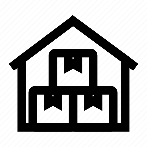 packages, storage, store, storehouse, warehouse icon