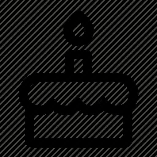 Birthday, cake, celebration, dessert, party icon - Download on Iconfinder
