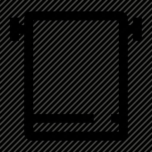 Bath, bathroom, clothes, hanger, towel icon - Download on Iconfinder