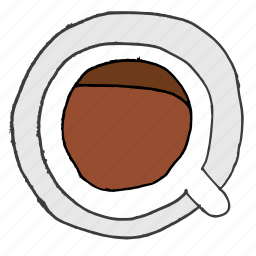 beverage, caffeine, coffee, cup, drink, hot, saucer icon