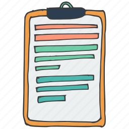 notes, pad, paper, scribble, stationery, text, write icon