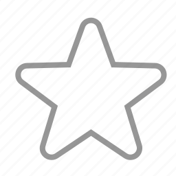 favorite, slim star, star, stars, thin icon