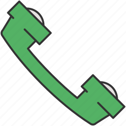 answer, call, communication, contact, phone icon