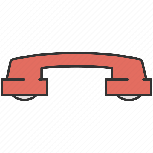 call, communication, end, hang up, phone icon