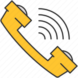 calling, communication, phone, ring, volume icon