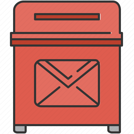 bin, communication, email, message, trash icon