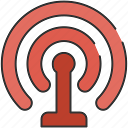 communication, computer, connection, internet, wireless icon