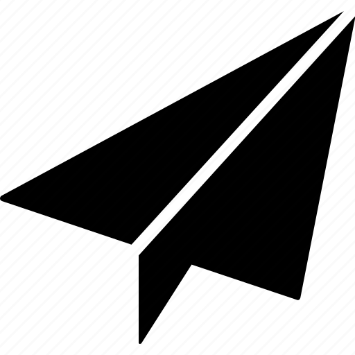 aeroplane, memo, message, paper, receive, send icon