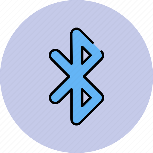 bluetooth, communication, download, receive, send, share icon