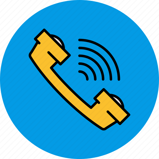 call, communication, phone, ring, volume icon