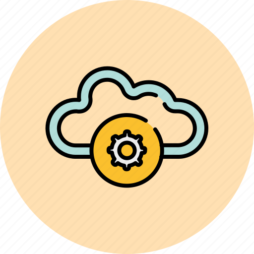 cloud, communication, preferences, save, settings, share icon