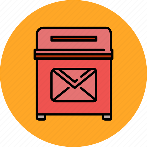 bin, communication, email, envelope, message, rubbish, trash icon