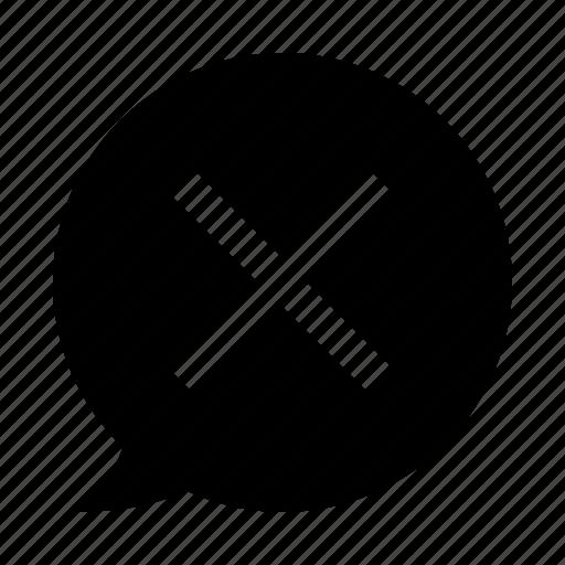 crossmark, disagree, negative, never, no, no way icon