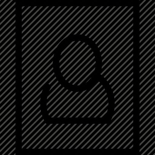 avatar, profile, square icon