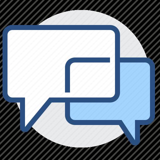 bubble, chat, communication, conversation, discuss, message, talk icon