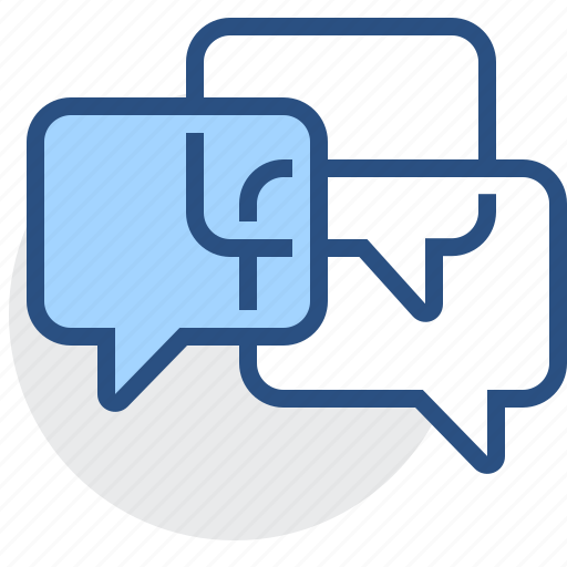 bubble, chat, comment, dialogue, discussion, sms, text icon