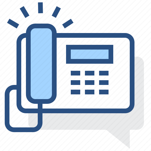 call, communication, fax, phone, ring, telephone icon