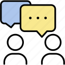 bubble, chat, comment, communication, speech, talk icon