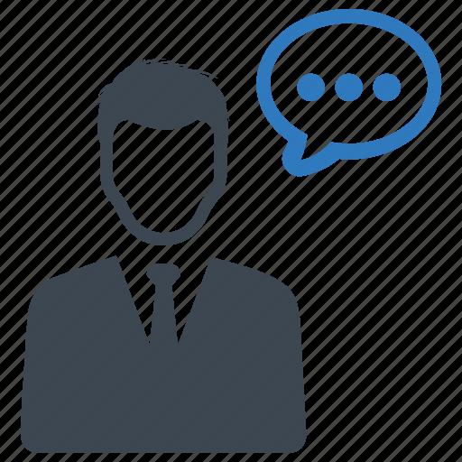 consultant, customer, service, support icon