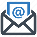 contact us, e-mail marketing, message icon