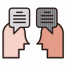 chat, communication, contact us, discussion, help icon