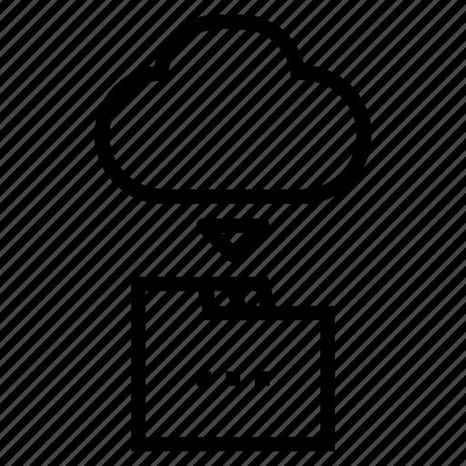 Clound, database, files, multimedia, network, storage icon - Download on Iconfinder