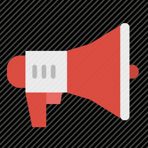 advertising, communications, loud, marketing, megaphone, speaker icon