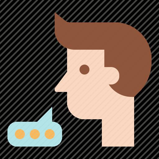 Bubble, chatting, conversation, speaking, speech, talk, talking icon - Download on Iconfinder