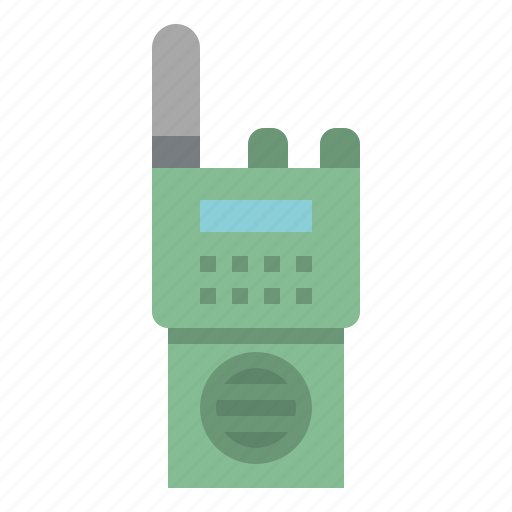 Communication, police, talkie, technology, walkie icon - Download on Iconfinder