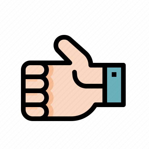 finger, gesture, good, hand, like, signs icon