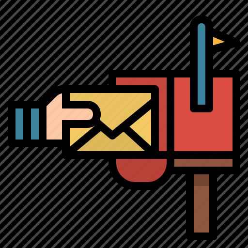 Envelope, mail, mailing, message, postal, postman icon - Download on Iconfinder