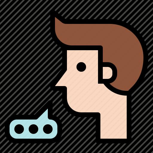 bubble, chatting, conversation, speaking, speech, talk, talking icon