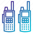 communication, communications, frequency, police, talkie, technology, walkie icon