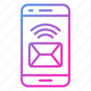 communication, device, email, envelope, message icon