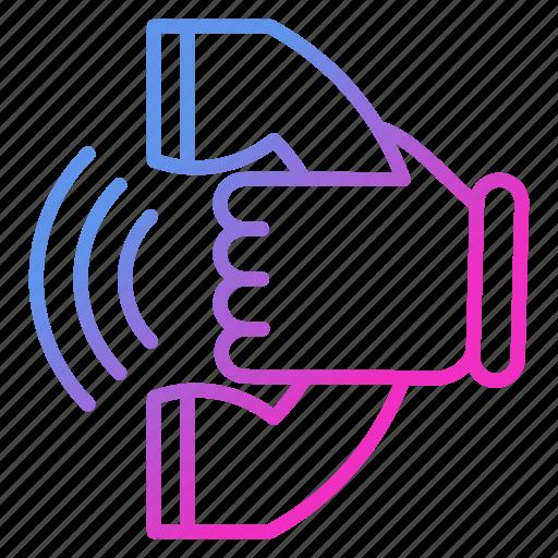 call, communication, talk, voice icon